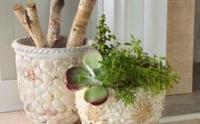 Как сделать и украсить горшок для цветов своими руками?