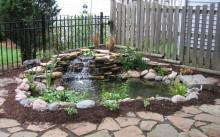 Водопад в саду